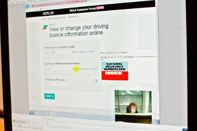 View or change your driving licence information online webpage