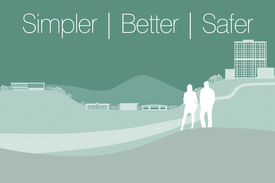 simpler better safer logo