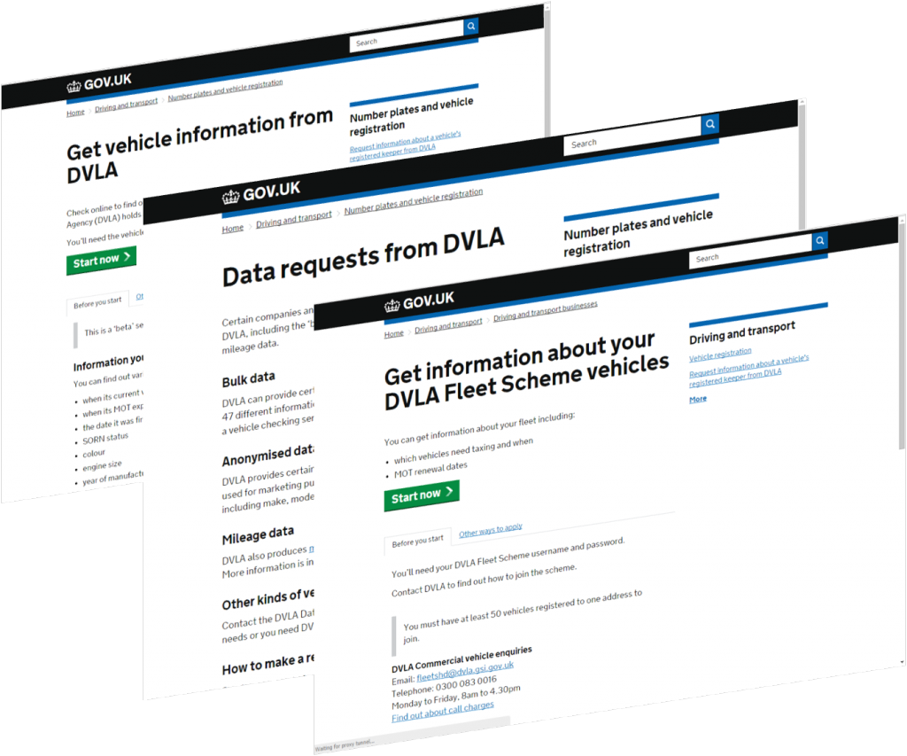 Digital Blog - VES Data requests and get info about fleet scheme screens