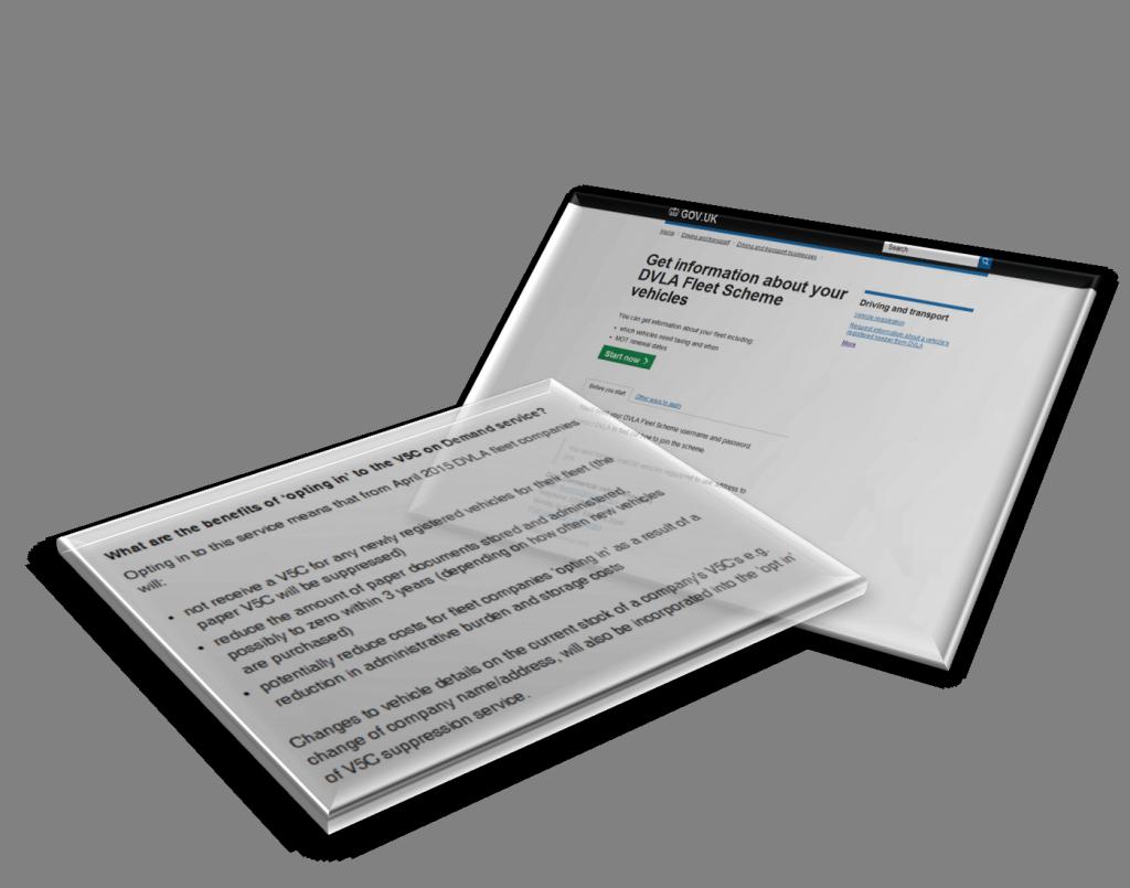 Get information about your DVLA fleet scheme