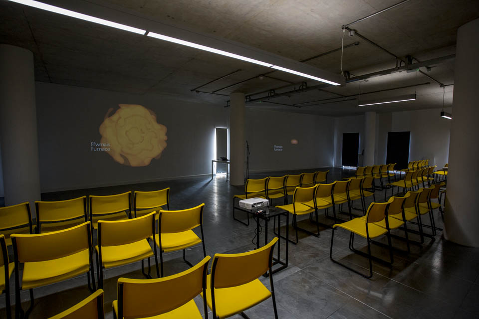 Furnace space at TechHub Swansea